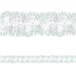 Pearl Deluxe Tinsel Garland | Party Supplies