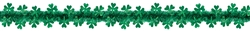 Shamrock D-C Prismatic Garland | Party supplies
