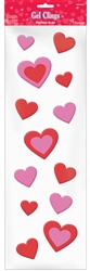 Valentine Long Gel Clings | Party Supplies