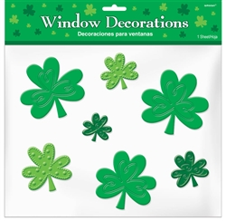 Shamrock Clings | Party Supplies
