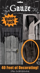 Gauze Big Pack - Black | Party Supplies