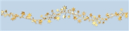 Gold Star Foil Wire Garland | Party Supplies