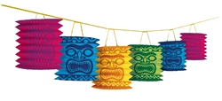 Tiki Paper Lantern | Luau Party Supplies