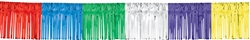 "Multi 15"" Metallic Fringe Garland 