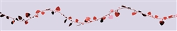 Red Hearts 12' Garland | Valentines decortaions