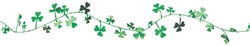 Shamrock Wire Garland | Party Supplies