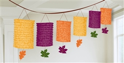 Fall Lantern Garland | Party Supplies