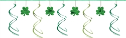Shamrock Swirl Garland | St. Patrick's day decorations