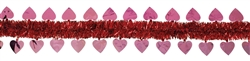 Pink Heart 15' Garland | Valentines decorations