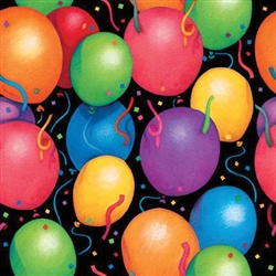 Balloon Bedazzle Jumbo Gift Wrap | Party Supplies