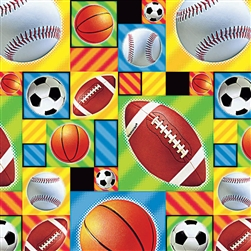 Championship Sports Gift Wrap | Party Supplies