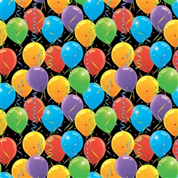 Balloon Splash Gift Wrap | Party Supplies