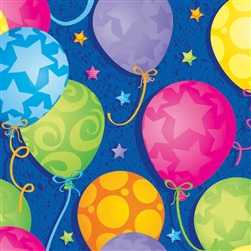 Bright Balloons Gift Wrap | Party Supplies