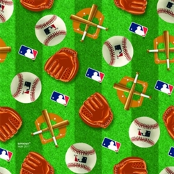 MLB Printed Gift Wrap with Hang Tab | Party Supplies
