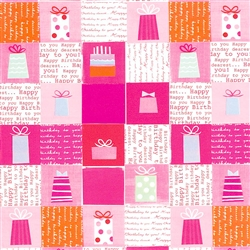 Pink Presents Jumbo Gift Wrap | Party Supplies