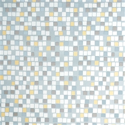 Silver Mosaic Gift Wrap | Party Supplies