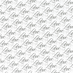 Love Weddings Gift Wrap | Party Supplies