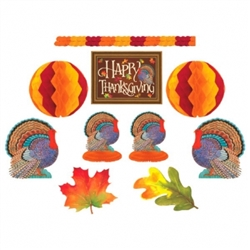 Thanksgiving Room Decorating Kit | Party Supplies