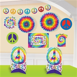 Feeling Groovy Decorating Kit | Party Supplies