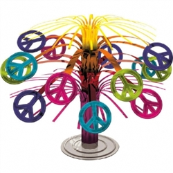 Feeling Groovy Mini Cascade Centerpiece | Party Supplies