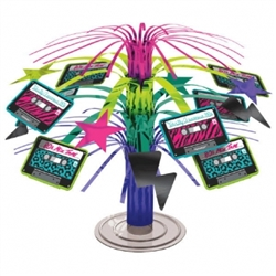 Totally 80's Mini Cascade Centerpiece | Party Supplies