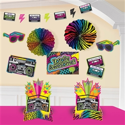 Totally 80's Decorating Kit | Party Supplies