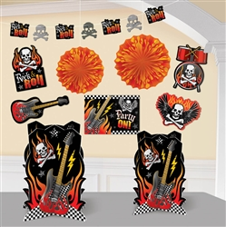 Rock On Decorating Kit | Party Supplies
