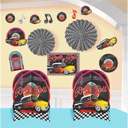 Classic 50's Decorating Kit | Party Supplies