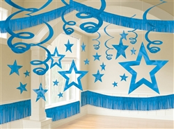 Blue Giant Room Decorating Kit | Party Supplies