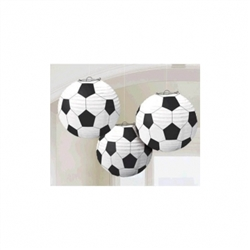 Soccer Fan Paper Lantern | Party Supplies