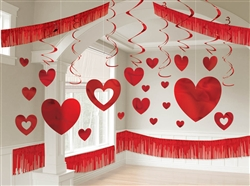 Valentine's Day Giant Room Hanging Decorating Kit | Valentines Day Decorating Kit