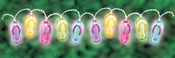 Flip Flop String Lights | Luau Party Supplies
