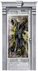 Zombie Vertical Door Decoration | Party Supplies