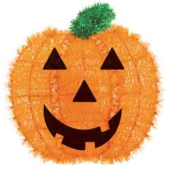 Pumpkin Tinsel Decorations Halloween Hanging Decorations