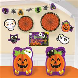 Halloween Room Decorating Kit | Halloween Party Supplies