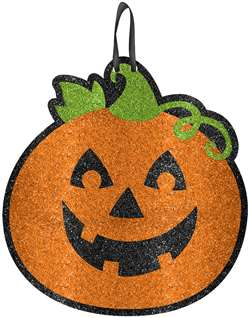 Pumpkin Medium Sign | Halloween Hanging Decorations