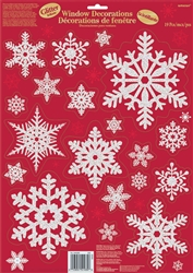 Traditional Snowflake Window Decoration | Party Supplies