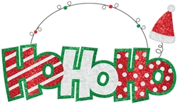 Ho Ho Ho Large Sign | Party Supplies
