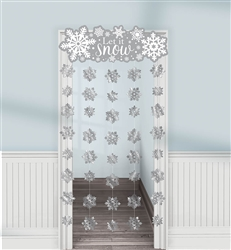 Winter Doorway Curtain | Party Supplies