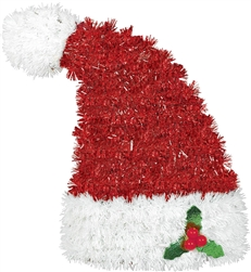 3-D Santa Hat Decoration | Party Supplies