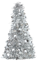 Silver Small Tree Centerpiece | Party Supplies