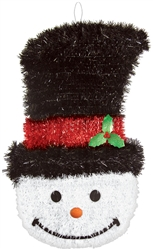 Deluxe Snowman Decoration | Party Supplies