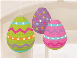 Egg-Shaped Lanterns | Party Supplies