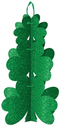 St. Patrick's Day 3-D Shamrock Dec. | St. Patrick's Day Decoration