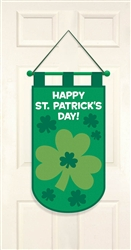 St. Patrick's Day Door Banner | Party supplies