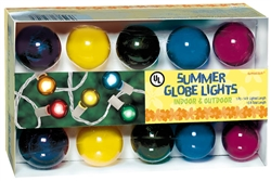 Summer Globe Lights - Multicolor | Summer Party Supplies