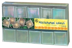 Summer Holographic Square Light Set | Party Supplies