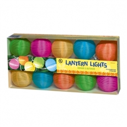 Round Lantern Light Set | Party Supplies