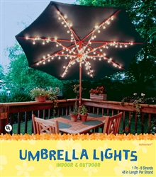 Umbrella Lights 100 ct. | Party Supplies