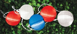 American Summer Round Light Set | Party Supplies